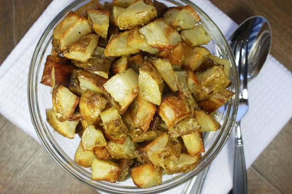 Roasted Potato Salad With Rosemary & Mustard - Feed Me I'm ...