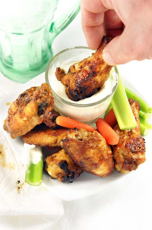 Game Day Oven Wings